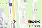 Схема проезда до компании Многопрофильная мастерская в Перми