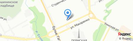 ПрофМастер на карте Перми
