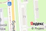 Схема проезда до компании Selena в Перми