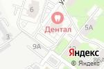 Схема проезда до компании ДентАл в Перми
