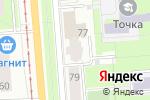 Схема проезда до компании Бульвар Гагарина, 77а, ТСЖ в Перми