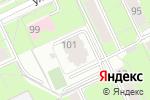 Схема проезда до компании Юр-Эксперт в Перми