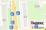 Схема проезда до компании Одень-Ка в Перми