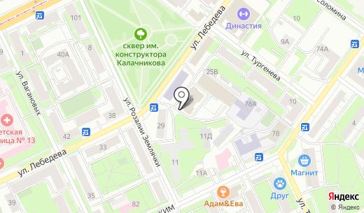 Энфорта. Схема проезда в Перми