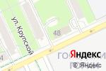 Схема проезда до компании Современные двери в Перми