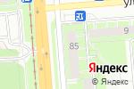 Схема проезда до компании Кофе с совой в Перми