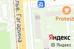 Схема проезда до компании Авто Электро в Перми