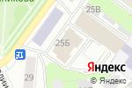 Схема проезда до компании Маленький рай в Перми