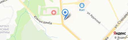 Джинсовый Клондайк на карте Перми