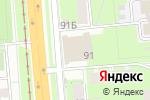 Схема проезда до компании Хит-дог в Перми