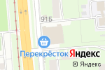 Схема проезда до компании Рыжий ким в Перми