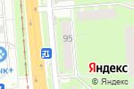 Схема проезда до компании Дари Цветы в Перми