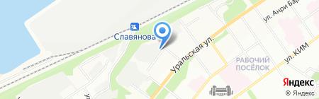 Учебный аттестационный центр на карте Перми