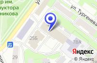 Схема проезда до компании ПТФ ПЕРМЬ-ТРЭЙД в Перми
