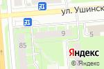 Схема проезда до компании Сезам в Перми