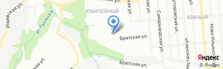 Детский сад №369 на карте Перми