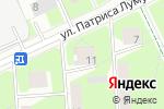 Схема проезда до компании Areachic в Перми