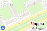 Схема проезда до компании Ампир Декор в Перми
