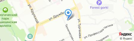 Диланс на карте Перми