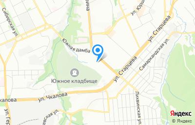 Местоположение на карте пункта техосмотра по адресу г Пермь, б-р Гагарина, д 80