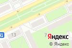 Схема проезда до компании Сеть магазинов товаров для дома в Перми