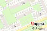 Схема проезда до компании Сваха профессиональная в Перми