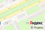 Схема проезда до компании ТианДе в Перми