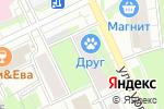 Схема проезда до компании Магазин мясной продукции в Перми