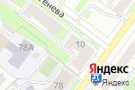 Схема проезда до компании Автофора в Перми