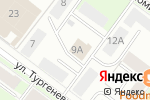 Схема проезда до компании Альтаис в Перми