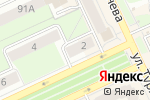 Схема проезда до компании Сорока в Перми