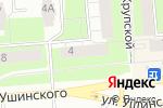 Схема проезда до компании Бухгалтерская компания в Перми