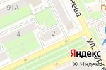 Схема проезда до компании Tupperware в Перми