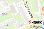 Схема проезда до компании Российское общество оценщиков в Перми