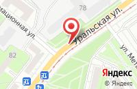 Схема проезда до компании Стимул в Перми