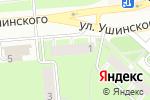 Схема проезда до компании Гранат в Перми