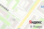 Схема проезда до компании СтройМаркет №1 в Перми