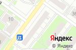 Схема проезда до компании Роза России в Перми