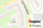Схема проезда до компании Карандаш красный в Перми