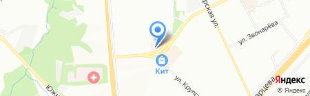 Карандаш на карте Перми