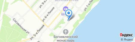 Детский сад №404 на карте Перми