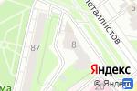 Схема проезда до компании Настроение в Перми