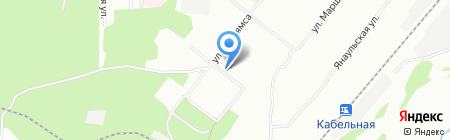 Арго на карте Перми