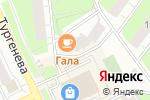Схема проезда до компании Идеал-Лик в Перми