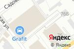 Схема проезда до компании Фортуна Авто в Перми