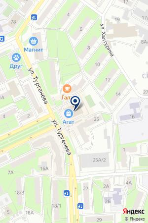 МАГАЗИН МУЖСКОЙ ОДЕЖДЫ TEXX МАРКЕТ на карте Перми