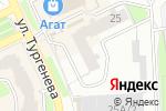Схема проезда до компании Жалюзи в Перми