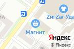 Схема проезда до компании Уралпромснаб в Перми