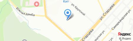Детский сад №317 на карте Перми