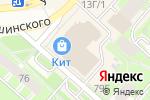 Схема проезда до компании Львёнок в Перми